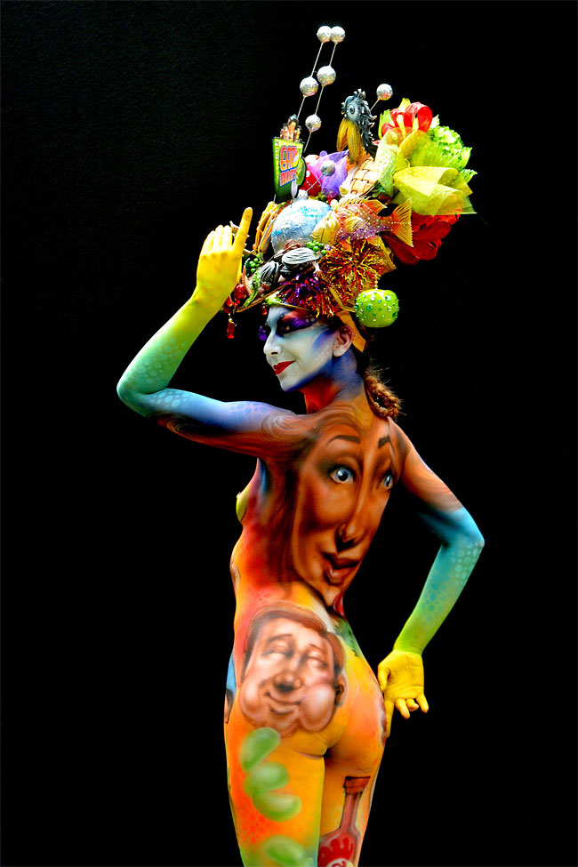 1292 The 16th World Bodypainting Festival