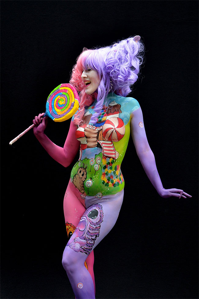 1293 The 16th World Bodypainting Festival