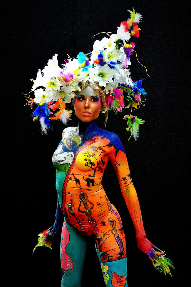 1342 The 16th World Bodypainting Festival