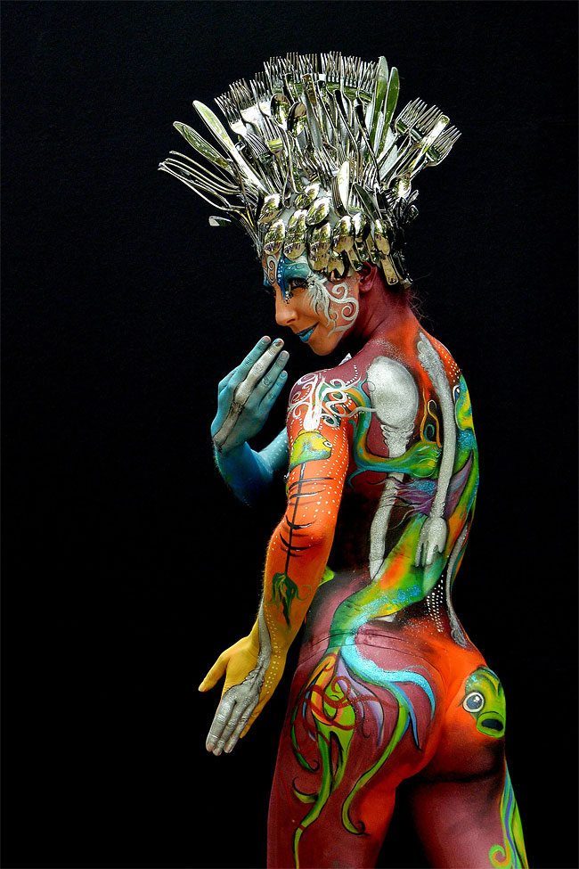 1717 The 16th World Bodypainting Festival