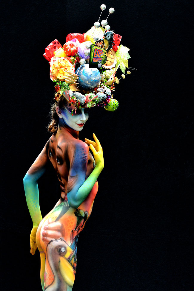 1818 The 16th World Bodypainting Festival