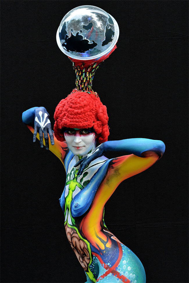 2144 The 16th World Bodypainting Festival