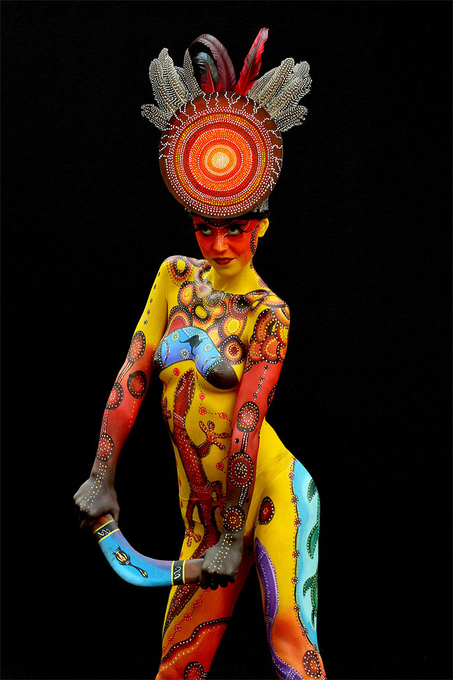3126 The 16th World Bodypainting Festival