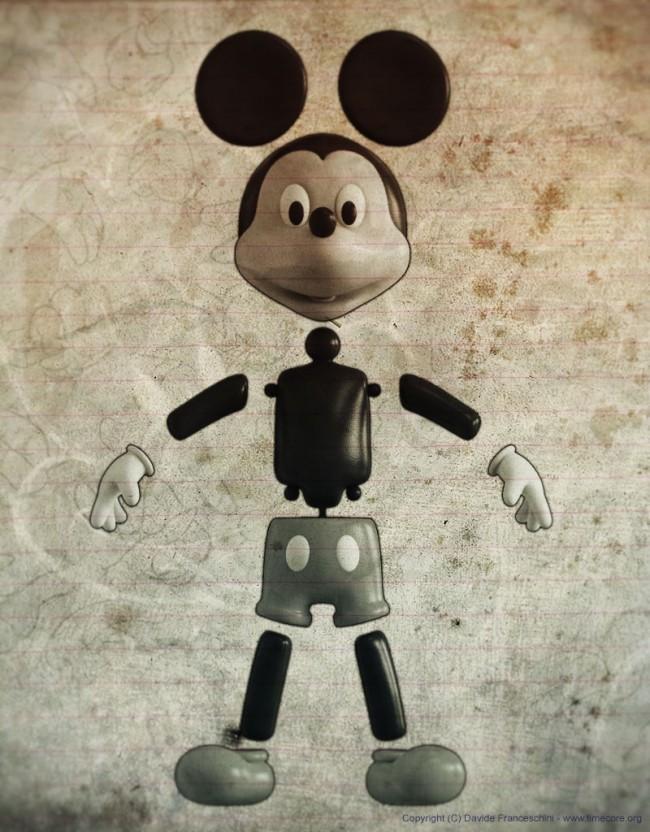3733 650x832 Mickey Mouse by Davide Franceschini