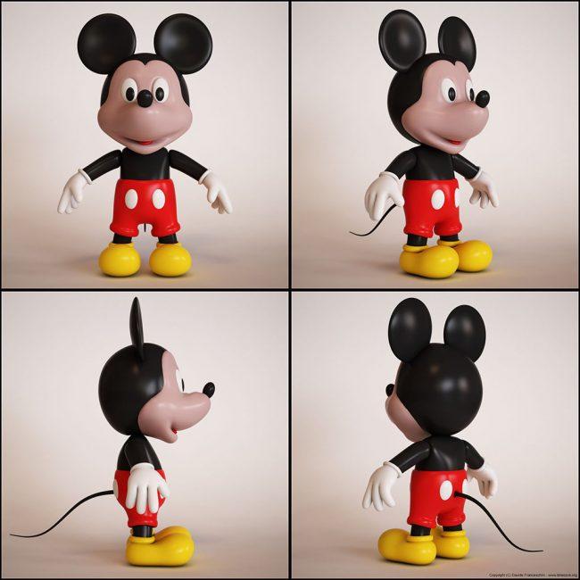 3753 650x650 Mickey Mouse by Davide Franceschini