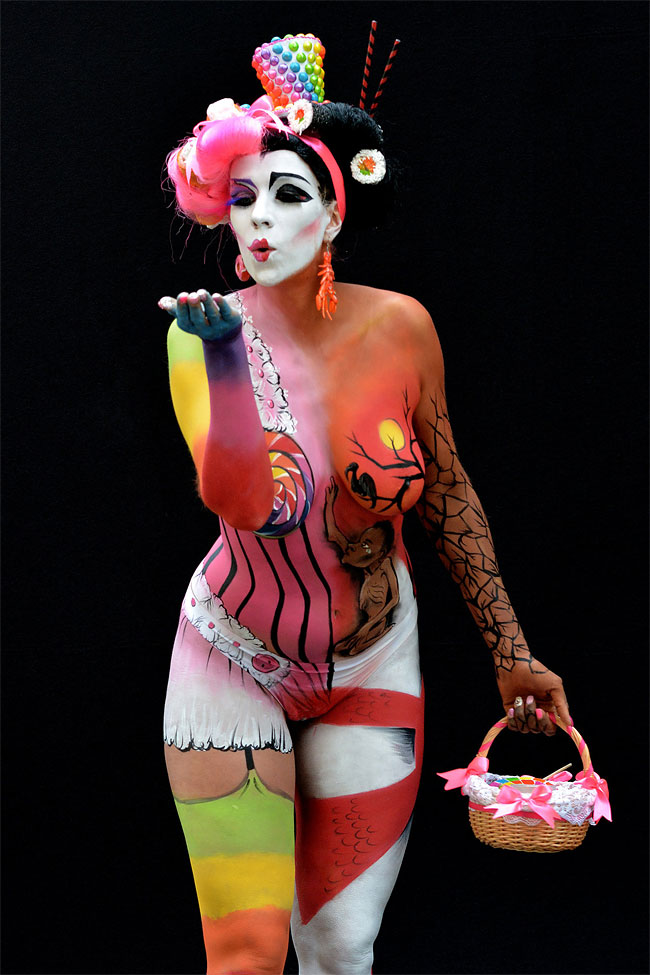 487 The 16th World Bodypainting Festival