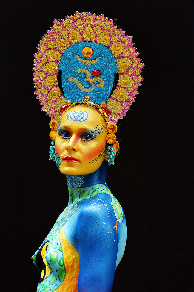 769 The 16th World Bodypainting Festival