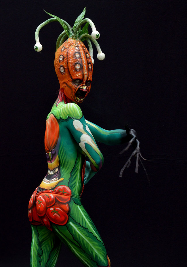 860 The 16th World Bodypainting Festival