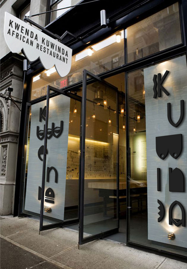 94 African Restaurant. Concept + Identity