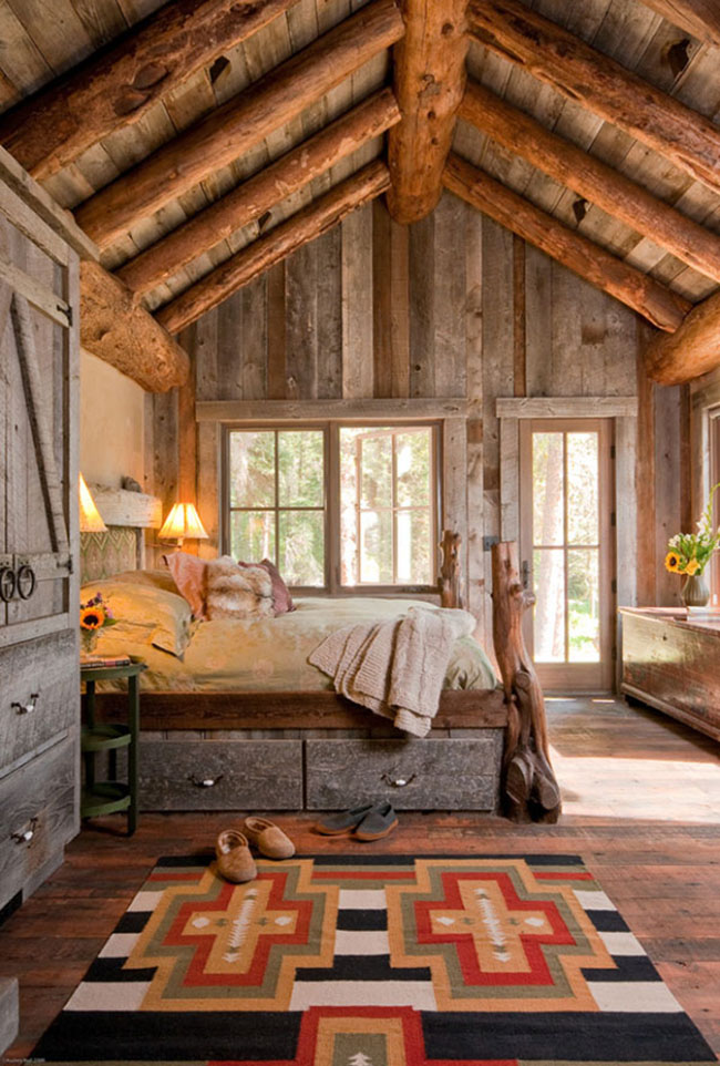 38 unbelievable barn style bedroom design ideas - Old Style Bedroom Designs