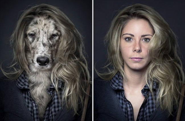 "Dogs Dressing Up Like Their Owners2 640x427 650x427 ""Underdogs"" by Sebastian Magnani"