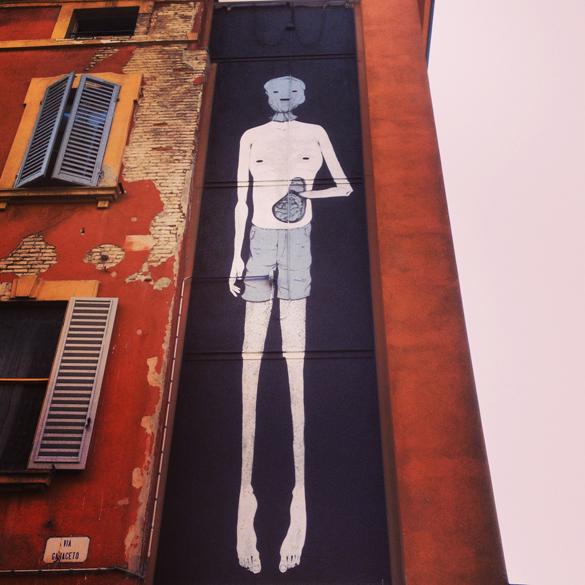 HerbertBaglione1  Street Art Festival in Modena!