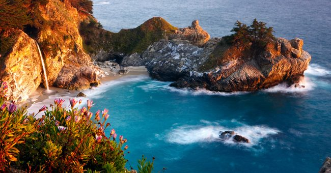 McWay Falls Julia Pfeiffer 650x340 24 Pics with Amazing Places That Will Inspire You