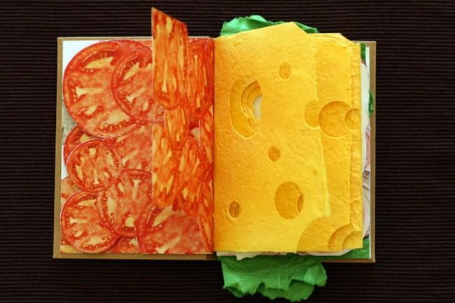 "SandwichBook3  650x433 ""Sandwich Book"" by Pawel Piotrowski"