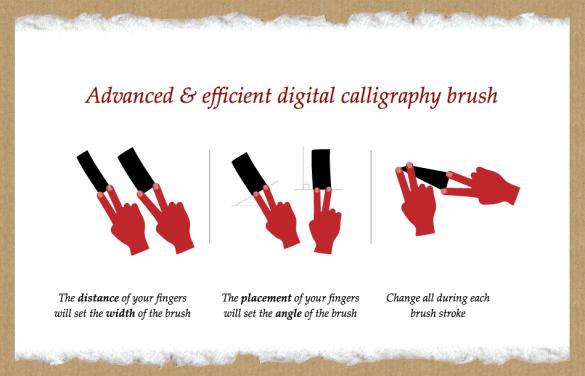 Schermata 07 2456486 alle 13.48.37 585x376 The modern calligraphic practice