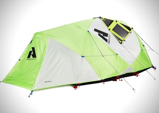 Tent Charge All Of Your Mobile Gadgets With Solar Tent