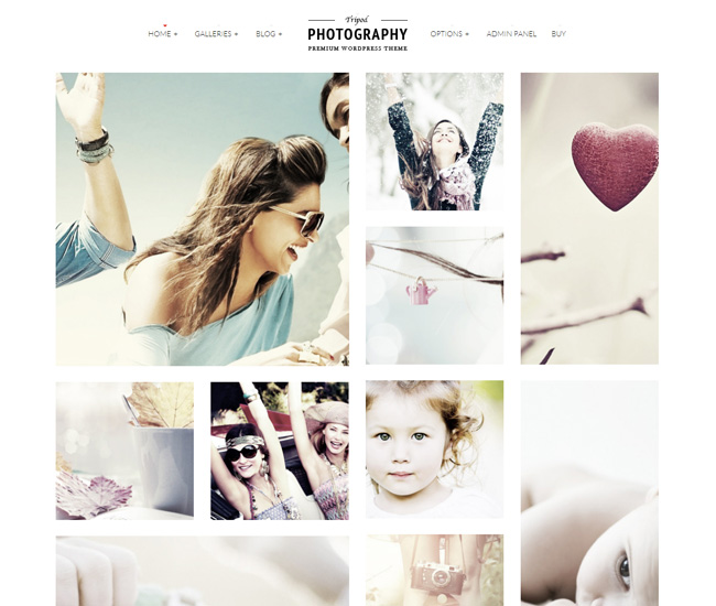 Tripod Fixed 50+ Free and Premium WordPress Themes Released in 2013