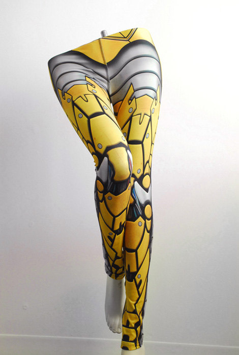 Vancouver design studio Badass Leggings Cover You In Beautiful Armor