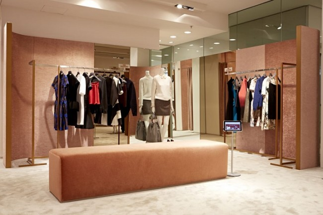 Wohn DesignTrend Theresa High End Fashion Store in München 07 650x432 High end fashion store in Munich    Theresa