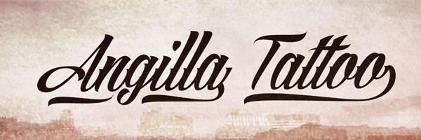 angilla tattoo 25 Free Impressive Designer Fonts