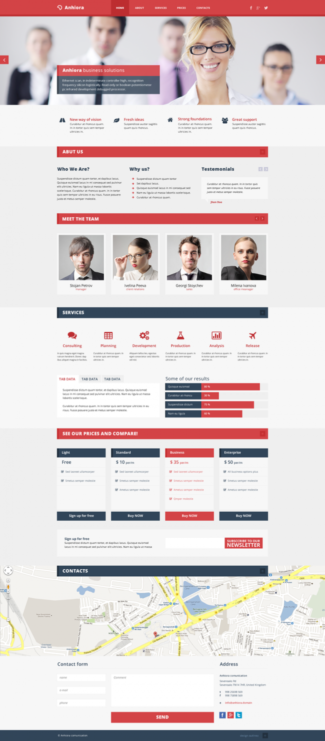 anhiora by outlinez 650x1480 Anhiora – free single page PSD template