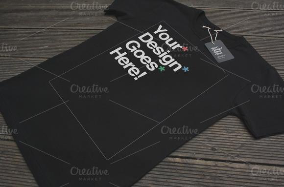 black tag f NOW 30% OFF! Clothing Brand T Shirt Mockups