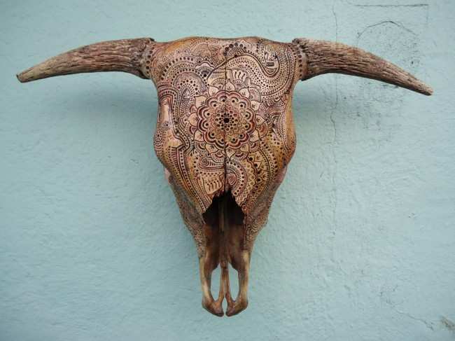 carved skulls jason borders 6 650x487 Carved Skulls by Jason Borders