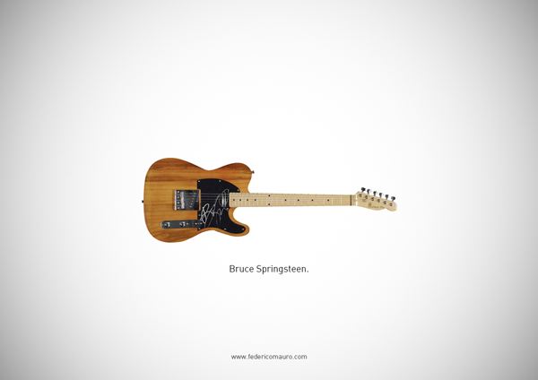 d4488f581be9fd64b1bbebed8b933247 Famous Guitars by Federico Mauro