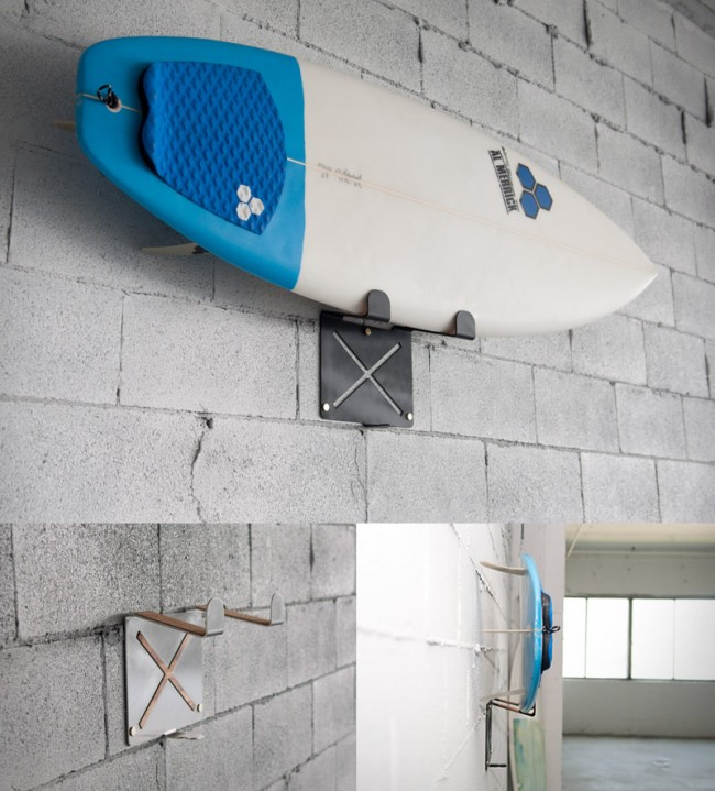 el gringo surfboard rack large 650x719 El Gringo | Wall Mounted Surfboard Rack