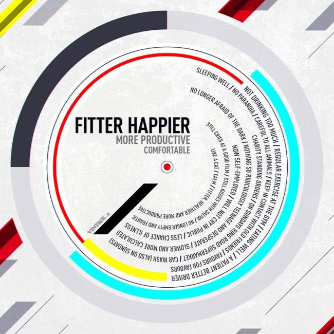fitter happier radiohead wallpaper 650x650 Fitter happier Radiohead wallpaper