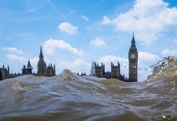 flooded4 River London by Rupert Jordan
