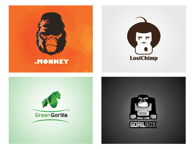 gorilla logo 15 Gorilla Logo Design for Inspiration