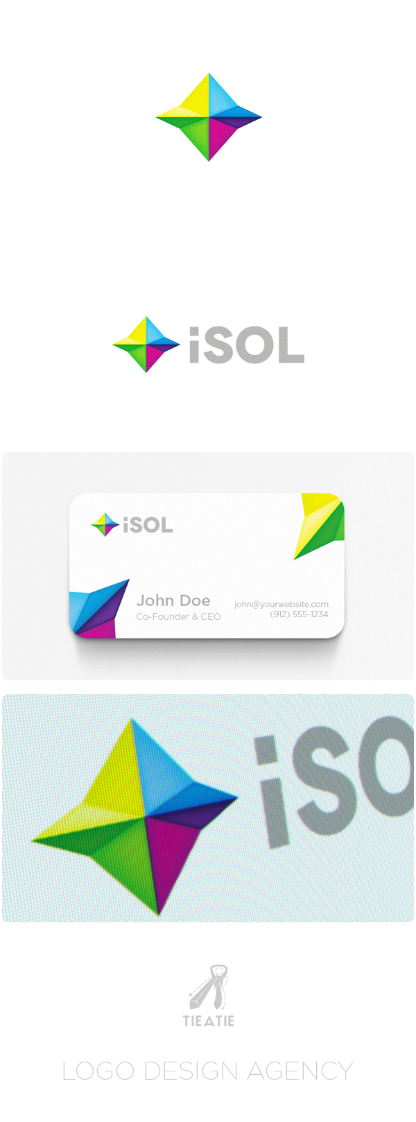 isol project iSOL Branding