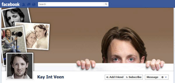 kay int veen@GenCept 40+ Astonishingly Creative Examples of Facebook Timeline Cover