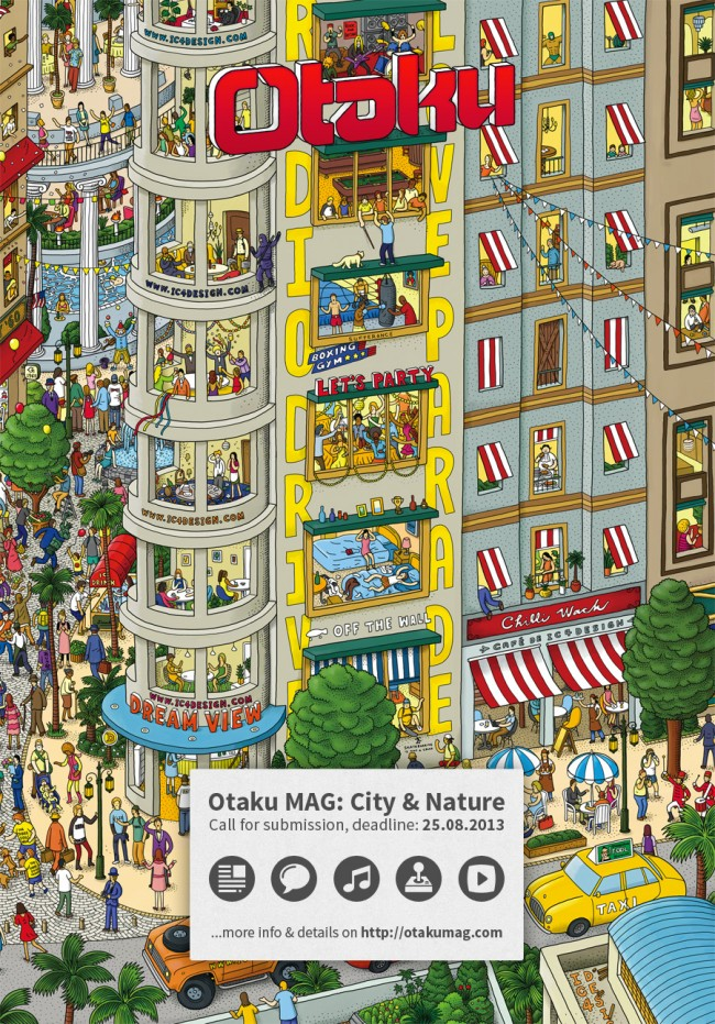 otaku mag  city and nature by otakumag d6cw06h 650x931 Otaku MAG: City & Nature