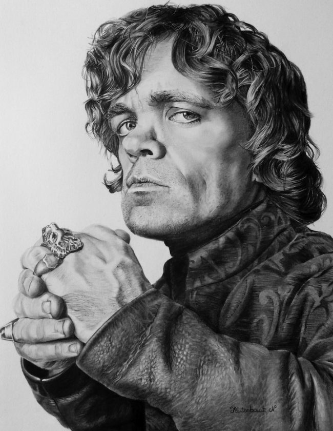 tyrion lannister by nathalief87 650x840 20 Fantastic and Funny Examples of Game of Thrones Fan Art