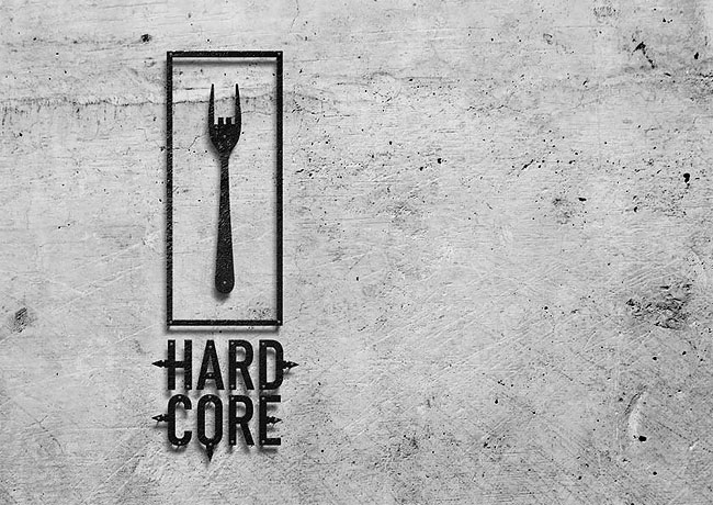 15 Hardcore Bar and Grill Visual Identity