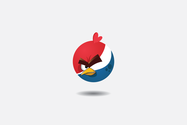 A Funny Angry Birds Angry Brands Project 6 Angry Brands | A Fun Project by Yakushev Grigory