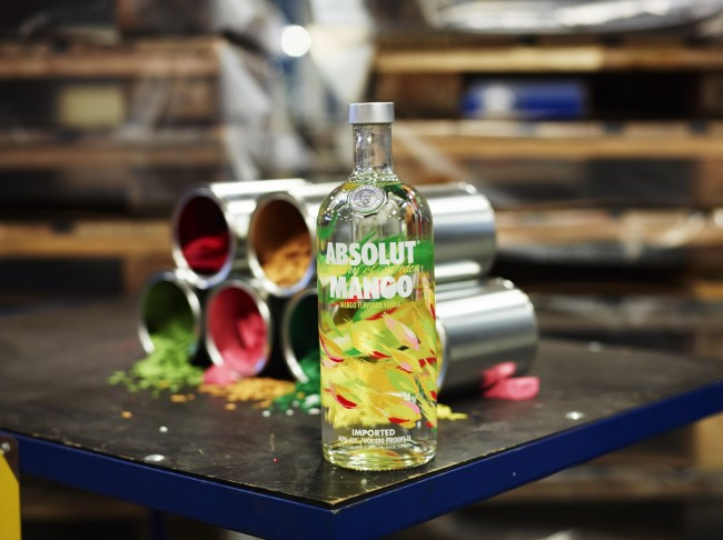 ABSOLUT Flavours redesign PRODUCTION MANGO 650x486 Behind the Scenes of Absolut Flavors with The Brand Union