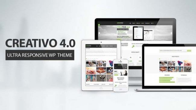 Creativo thumbnail 650x366 Creativo – A Responsive WordPress Theme