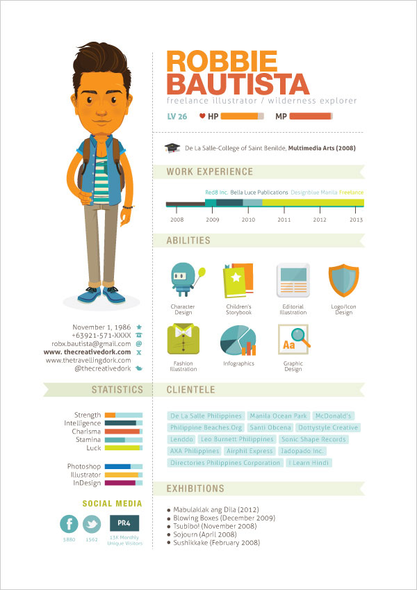 Curriculum Vitae 20131 Some Really Interesting & Simple Resume Examples