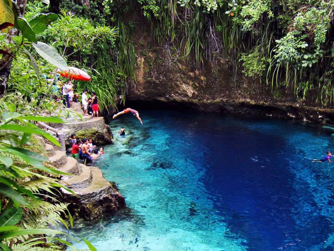 Natural Swimming Holes 7 10 Stunning Natural Swim Holes Around the World