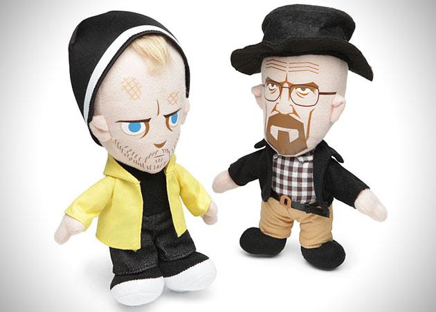 Plush Walt and Jesse Plush Dolls from Breaking Bad