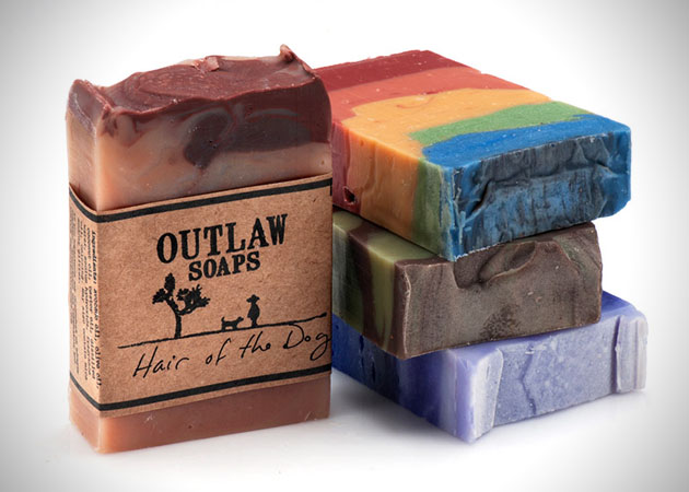 Soap Bacon and Whiskey Scented Masculine Soaps
