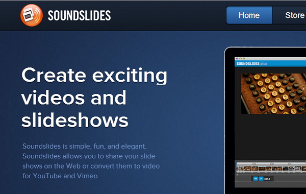Sound Slides1 Top 10 Latest HTML5 Apps You Should be Using