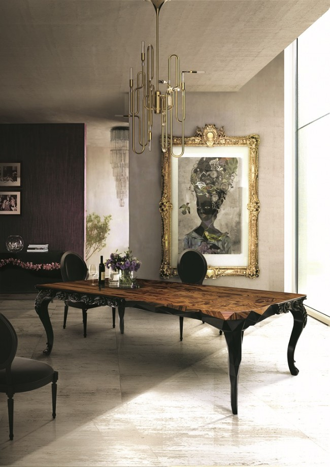 Wohn DesignTrend Esstiche für Esszimmer Boca do Lobo 650x919 Big Dining Tables for modern Dining Rooms