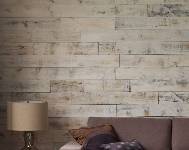 Wood DIY Peel & Stick Wood Paneling for your Home