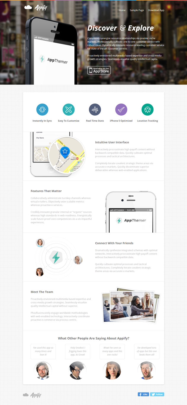 appify landing page theme 10 of the Best Landing Page WordPress Themes