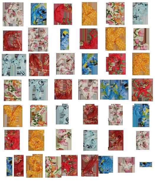color shawls font alphabet Color shawls font