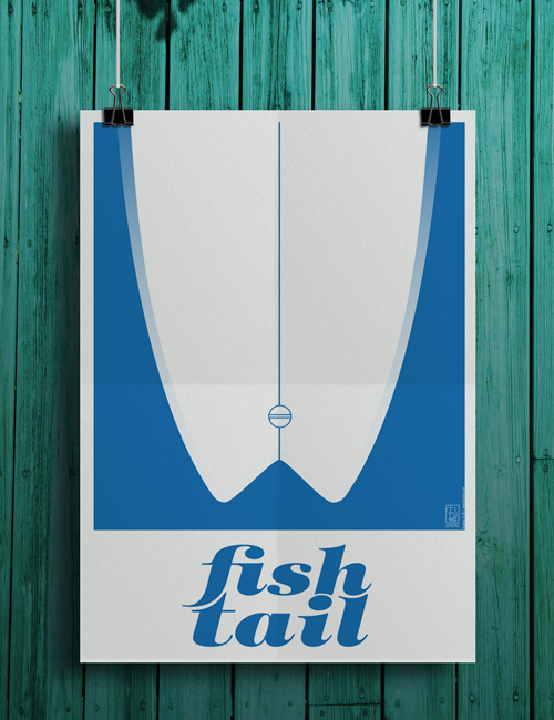 fishtail poster Fish Tail Poster